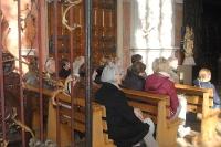 Besichtigung der Kirche St. Jakobus