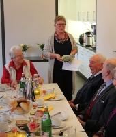 Geburtstagsfrühstück der Senioren von St. Viktor