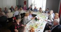 Geburtstagsfrühstück der Senioren von St. Viktor im Juli