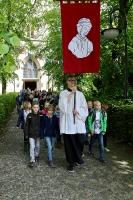 Kommunionkinderwallfahrt zum Emmerickgrab