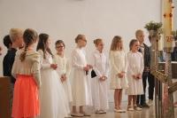 Pfingsten und Dankgottesdienst der Erstkommunionkinder in St. Mauritius
