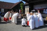 Prozession auf der Karthaus