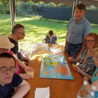 Wochenendfahrt der Sonnenblumengruppe nach Gelsenkirchen zum Schacht III