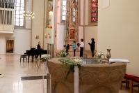 Erstkommunion und Taufe in St. Viktor