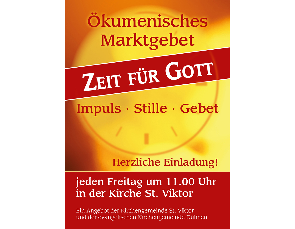Marktzeit Flyer