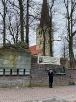 Gedenkveranstaltung anlässlich des 76. Jahrestages der Bombardierung Dülmens